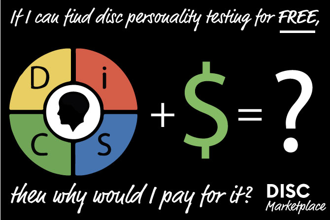 disc personality testing free versus paid options from Disc Marketplace