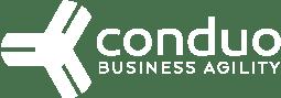 Conduo Agile Business Coaching Services Boise Idaho logo white